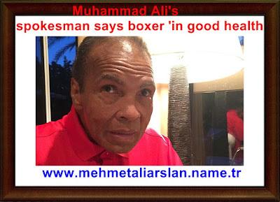 Muhammad Ali's spokesman says boxer 'in good health