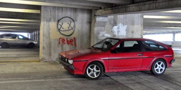 vw red scirocco  buy classic volks