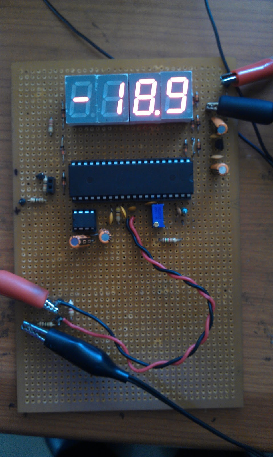 Ham Radio Mipl 2012 Icl7107 Digital Led Voltmeter Electronics Circuit Picture Hd Walls Have A Look At Some Working Snapshot Of Using