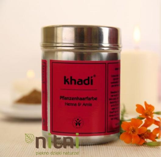 Henna Khadi z puszki, czyli delikatna zmiana koloru i wspaniale odżywione włosy (zdjęcia)