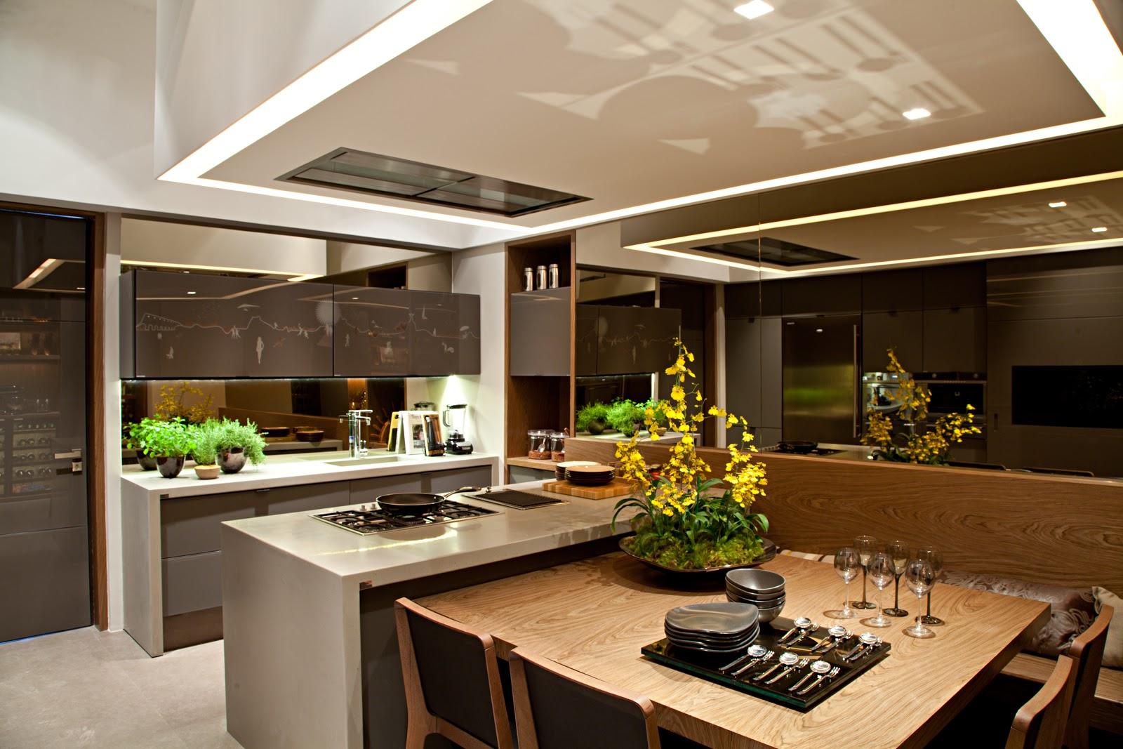 Cozinhas: das modernas às tradicionais Tá Decorado! #B8A413 1600 1067