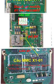 Nokia X1-01 MMC not detected