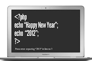 Technical Approach to say Happy New Year 2013.