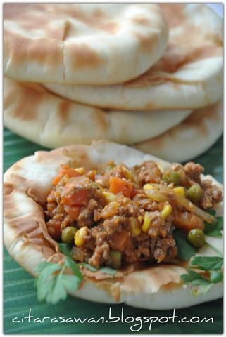 Resipi : Roti Naan / Naan Bread