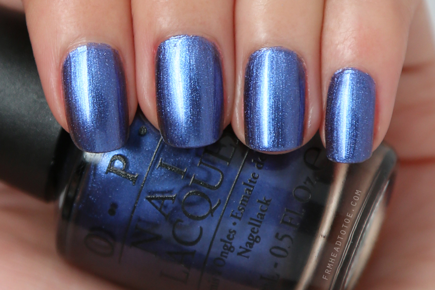 Manicure Monday: OPI Into The Night - From Head To Toe