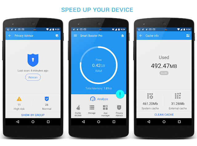 Download Smart Booster Pro v5.7 Cracked Apk For Android