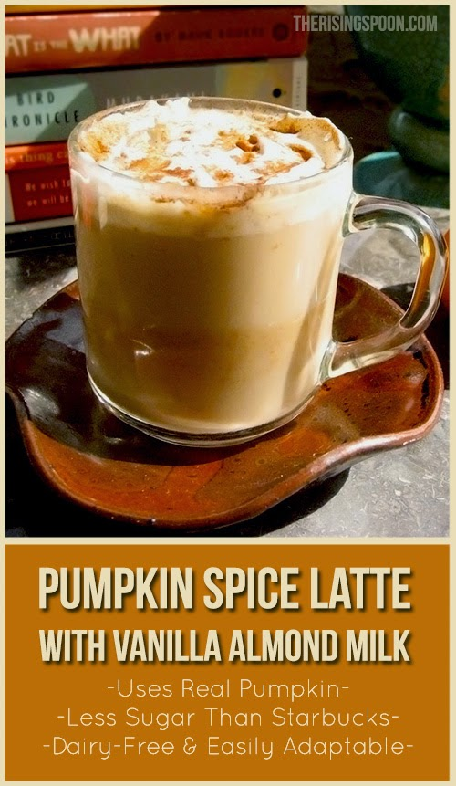 Vegan Pumpkin Spice Latte Recipe