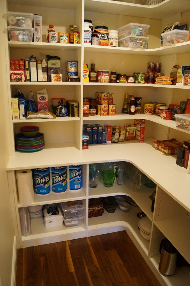 Professionally organized move kuzak39s closet for Pantry storage ideas nz