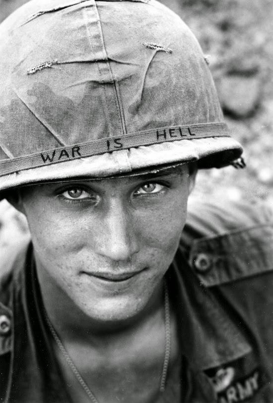 Unknown soldier in Vietnam, 1965