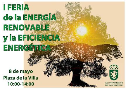 Feria energía en Alpedrete, el domingo 8 de mayo