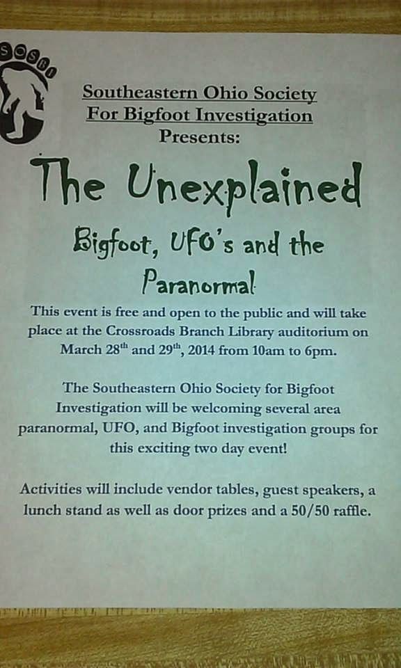 Bigfoot UFO Paranormal convention