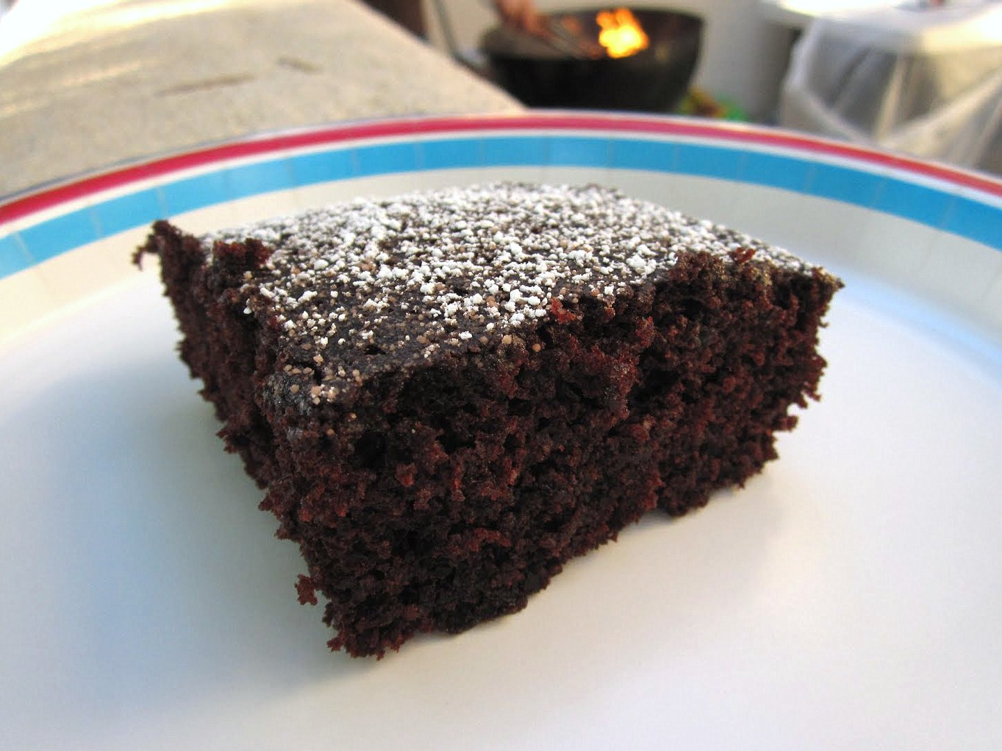 Images Of Eggless Chocolate Cake : Chomping Board: Chocolate Depression cake - eggless and ...