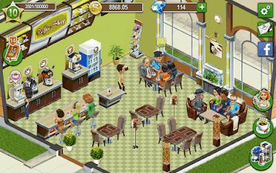 Coffee Shop Cafe Business Sim mod apk
