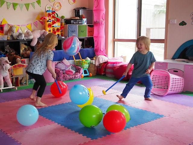 Birthday Fun For Adults : Learn with play at home fun indoor balloon party games