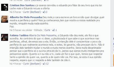 Mulher de Eduardo explica recusa do rapper a ir no Programa do Jô