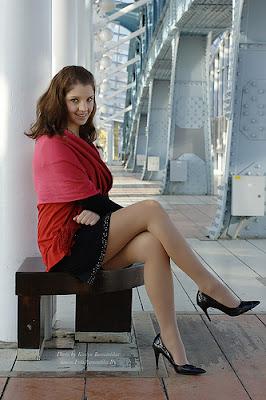 Beautiful and sexy secretary