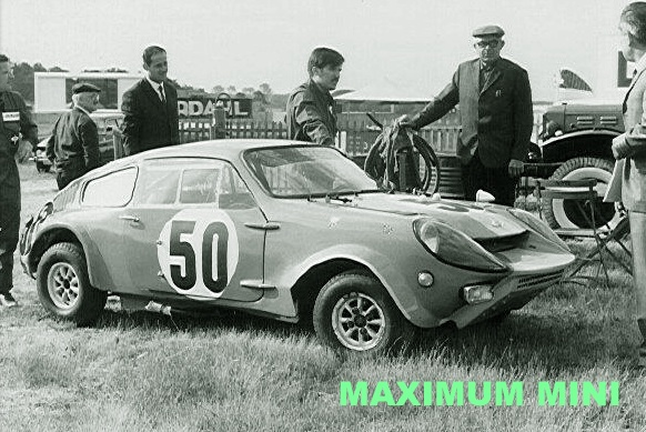 maximum mini minis at le mans 1966. Black Bedroom Furniture Sets. Home Design Ideas