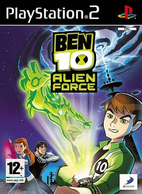 Ben 10 Ultimate Alien Force PS2 Cover