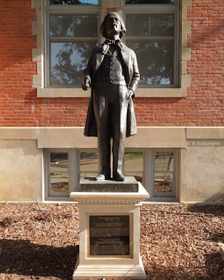 Statue of Paderewski In Paso Robles City Park, © B. Radisavljevic