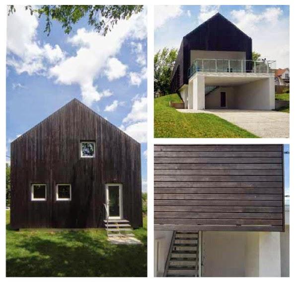 gambar tampak depan model rumah minimalis modern prescott house