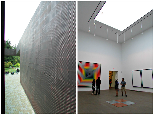 de Young Museum // Textured Exterior & Contemporary Art Exhibit