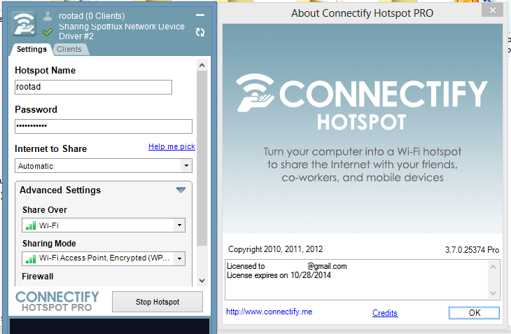 Free Download Connectify Hotspot Pro 9.1.3 Full Version