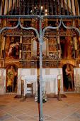 altar de la capella del santuari