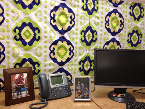 Cubicle Makeover: After