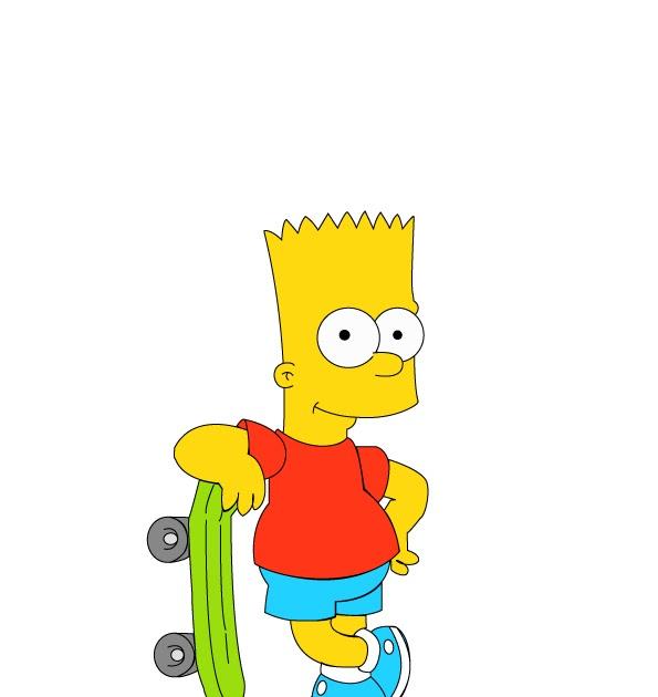 Paula l bo designer vetoriza o do bart simpson - Bart simpson nu ...