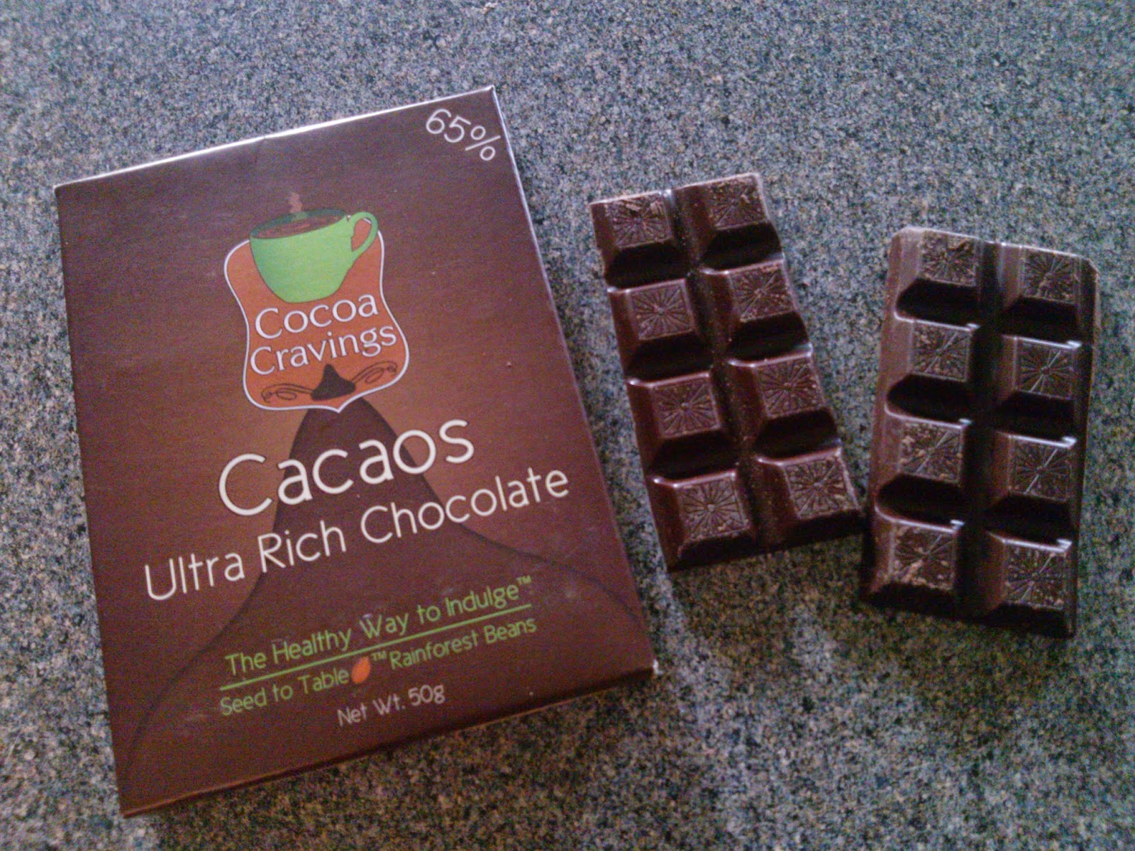 Cocoa Cravings Gourmet Dark Chocolate Review & Giveaway