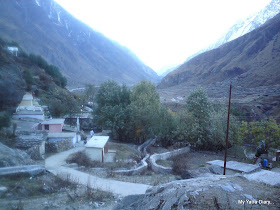 A view of the Mana Village near Badrinath
