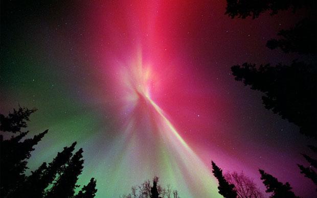 Alaska Aurora Borealis Lights wallpaper 1080p