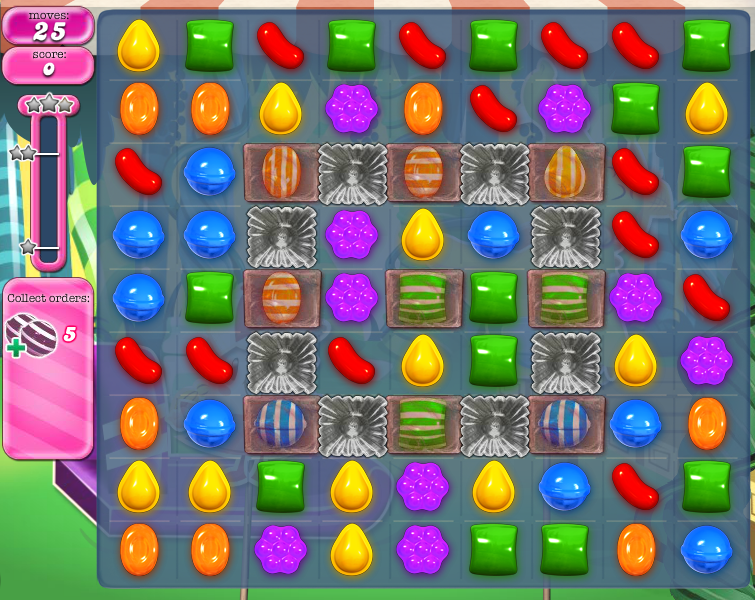 Level 412 | Candy Crush tips level 412