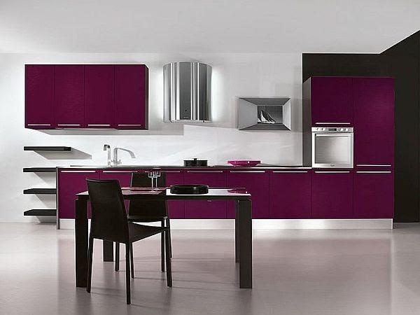 Idee Deco Pour Chambre Mixte : Violet Idées décoration de la cuisine ~ Design Interieur France