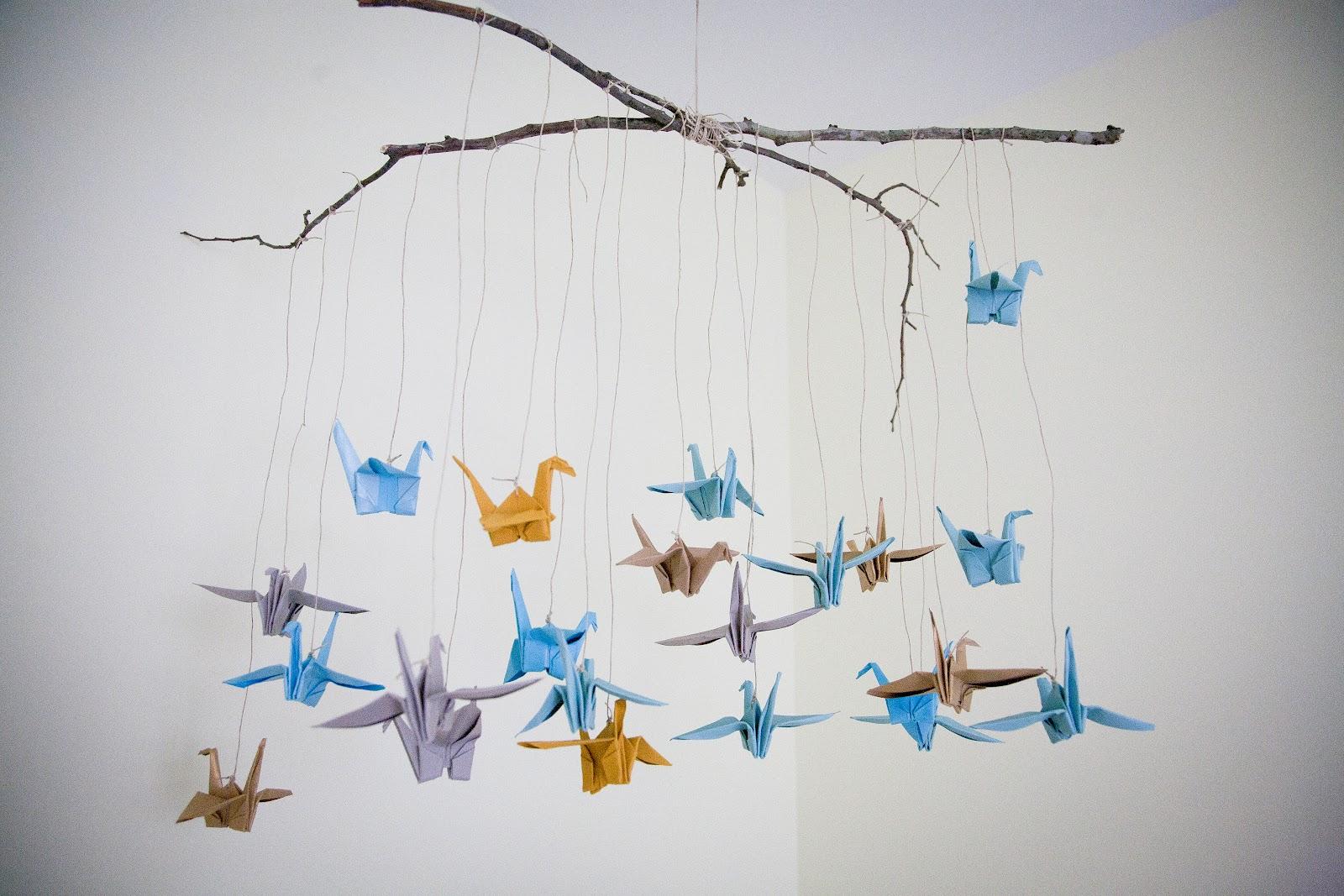 Lovedotlulu Diy Origami Bird Mobile