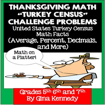 Tips to Improve Critical Thinking with  st Grade Math Word     Thanksgiving Census Critical Thinking Word Problems  middot   quot