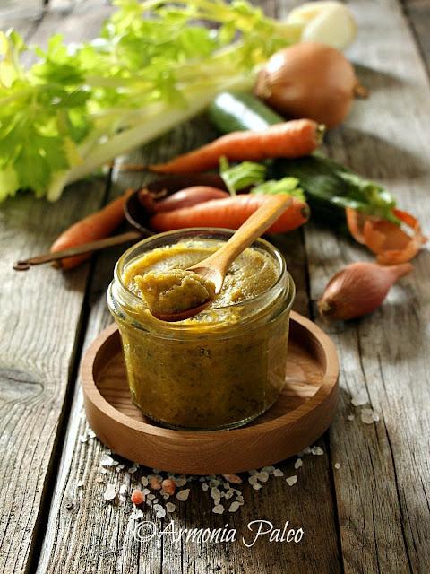 Dado per Brodo Vegetale Homemade di Armonia Paleo