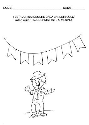 Atividades Educativas para Educação Infantil - Festa junina