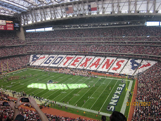 Houston Texans - Patriots play-off game thoughts