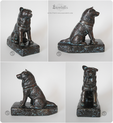 Hachiko sculpture