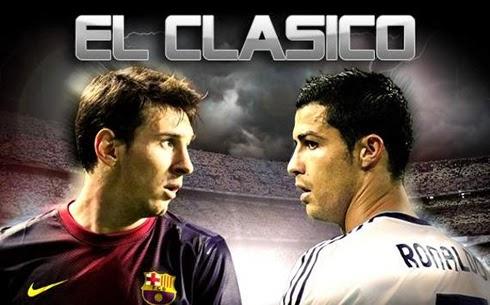 El-Clasico Messi vs Ronaldo