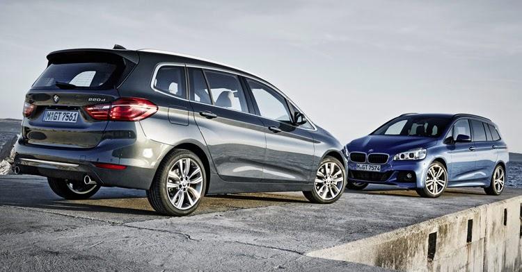 BMW Parades New 2-Series Gran Tourer Minivan In 202 Photos