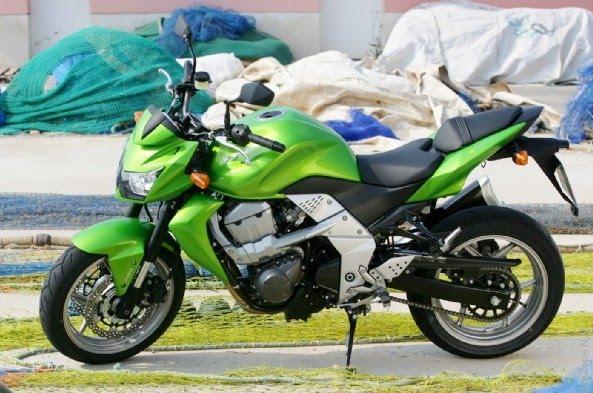 New Kawasaki Z750 Bike View