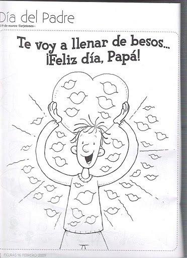 Maestra Asunción: Día del Padre. Imágenes para Colorear.