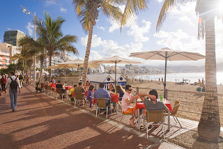Gran Canaria's weather and outdoor cafes are perfect for conference events