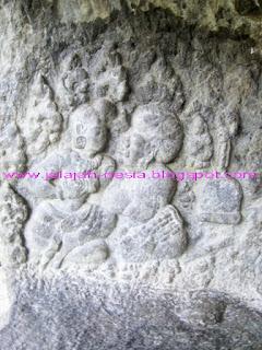 Situs Purbakala Gua Pasir - Tulungagung, Misteri Relief Pria Bersorban di Gua Pasir