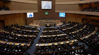 New African Union Conference Center Addis Ababa Ethiopia