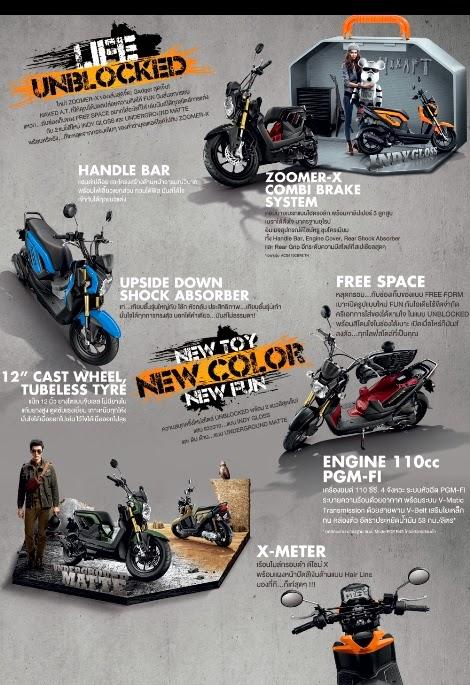 Honda Zoomer X Thailand , durasi iklannya lamaa..lah ternyata ini film