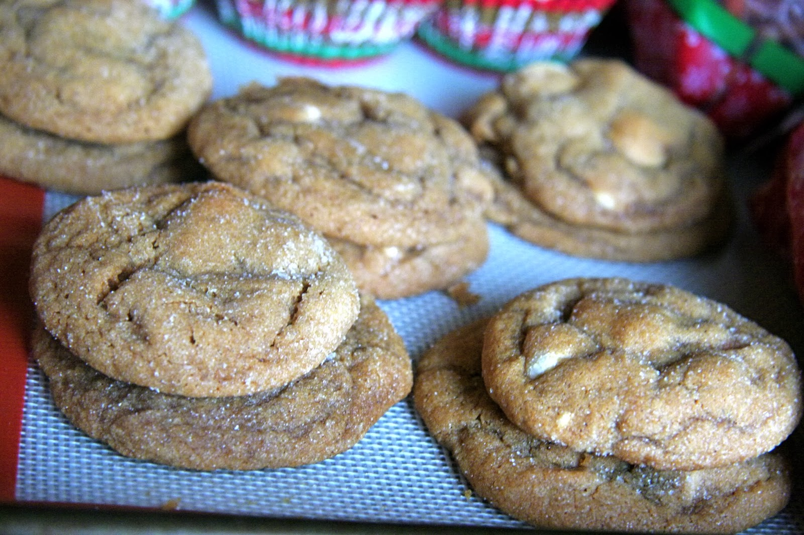soft gingersnap cookies with chocolate chip gingersnap pumpkin ...