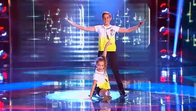 María y Daniel bailan Tutti Frutti: Pequeños Gigantes Gala 5